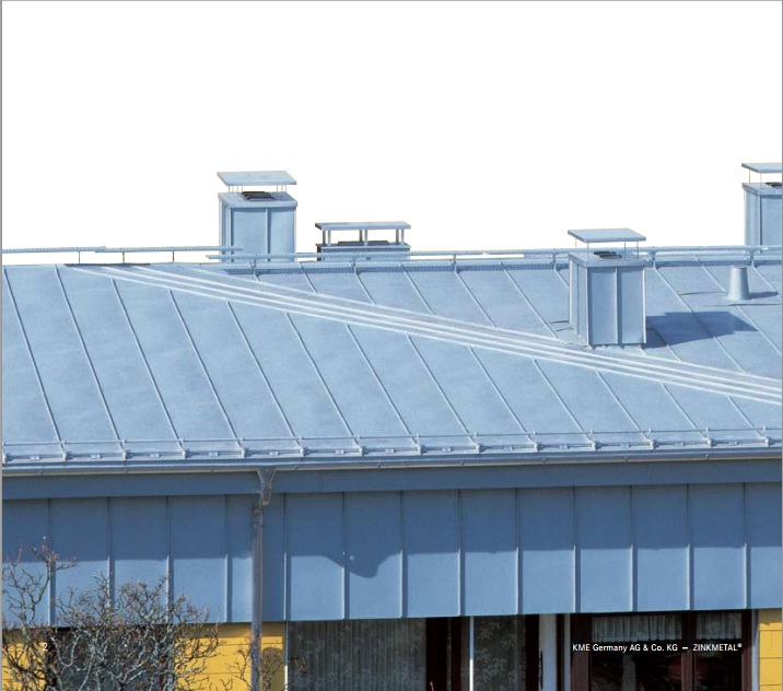zinc pentru acoperisuri